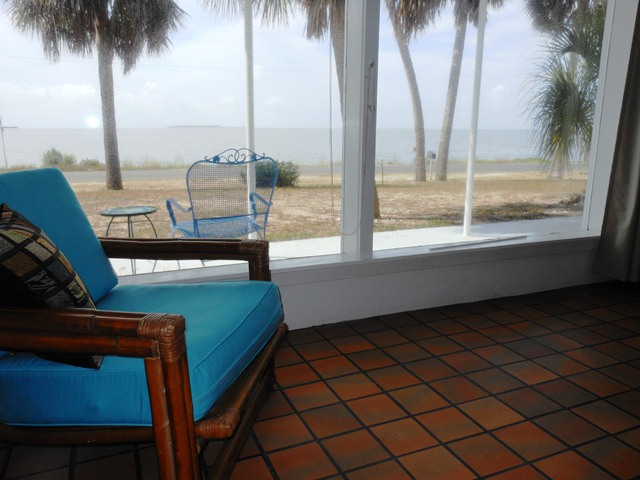 The front room view at Islands11.